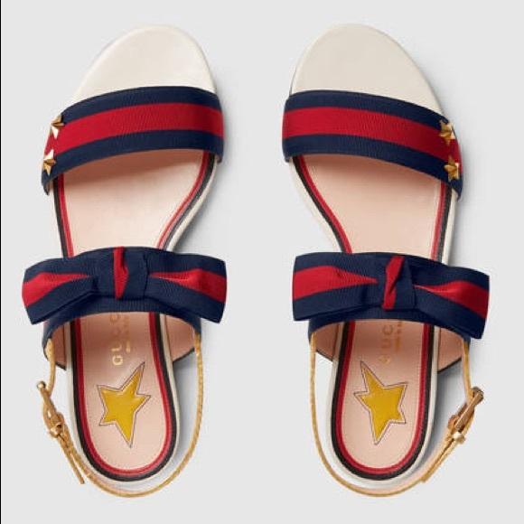 433ba80d8ff Gucci Shoes - Gucci Grosgrain Sandals ⚓ Price Firm